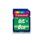 Transcend TS8GSDHC4 - 8GB SDHC Class 4