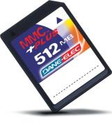 Dane Elec Memory Card 512MB DANE0311 MMC Plus