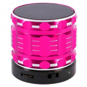 Mini bluetooth speaker, SummerYoung Bluetooth portable speaker support hands free and TF card, with USB, AUX cable