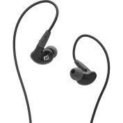 MEE audio Pinnacle P2 High Fidelity Audiophile In-Ear Headphones with Detachable Cables - Black