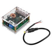 DC DC 7-60V to 5V Voltage Step Down Power Supply Converter 5A Board Module Transformer with 4 USB Ports