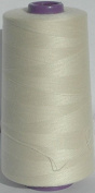 5000m Polyester Overlocker & Sewing Machine Thread Choice Colours Best Quality - Cream - 107