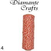 Bakers Twine 4 Ply / 1mm 100 Yard Spool Choice of 38 Colours Only 4p per metre