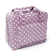 HobbyGift MR4660/121 | PVC Sewing Machine Bag Mauve Spot