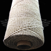 100 Metre, SPARKLE IVORY BEAUTIFUL BAKERS TWINE 100% COTTON 2mm 2 PLY MADE IN THE UK - STRING CORD CRAFT PAPER - FREE UK DELIVERY