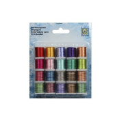 Embroidery Thread set 5 - 20 Spools Various Colours - Nellie Snellen