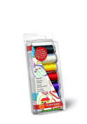 Gutermann 100 Percent Viscose Rayon 40 Machine Embroidery Thread Set, Classic