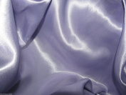 Lilac Satin Silky Fabric Plain Dress And Craft Material 150cm Wide - £2.85 metre