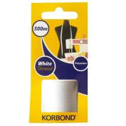 Korbond 500 m White Thread