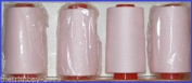 Light Pink 110 Overlocking Sewing Machine Polyester Thread Four 5000 Yards Cones