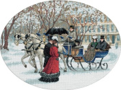 """Dimensions """"Winter Impressions"""" Gold Collection/Counted Cross Stitch Kit, Multi-Colour"""