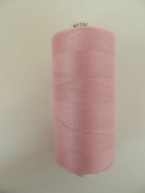 Always Knitting And Sewing Coates Moon Spun Polyester Sewing Thread 1000 Yards, Sugar Pink No 206