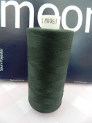 Always Knitting And Sewing Coates Moon Spun Polyester Sewing Thread 1000 Yards, Bottle Green No. 61