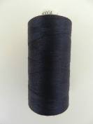 Always Knitting And Sewing Coates Moon Spun Polyester Sewing Thread 1000 Yards, Navy Blue No. 4