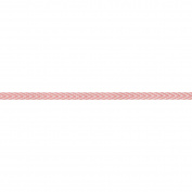May Arts Twill Chevron Stripes 0.6cm x 50 Yards, Pink, Pink