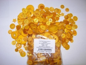 2 x 100g Bags KosiKrafts Art And Crafts YELLOW Sewing BUTTONS