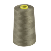 OVERLOCKING THREAD - OVERLOCKER THREAD - POLYESTER THREAD - INDUSTRIAL SEWING THREAD - 4 X 5000 YARD SPOOLS - LARGE COLOUR SELECTION INCLUDING