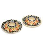 Adelheid Original Bunzlauer Ceramic Egg Cup Flat, Decor