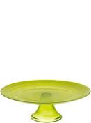 SeaGlassware Cake Plate, Green, 0.1 x 0.1 x 0.1 cm