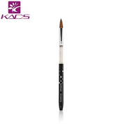 KADS Size 8# kolinsky sable acrylic nail brush black 100% Kolinsky Sable Brush Professionalacrylic brush