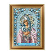 Moresave 5D DIY Diamond Painting Religious Virgin Craft Kit Home Living Room Wall Decorations Gift