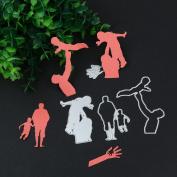 Hunpta New Metal Cutting Model Stencil Scrapbook Paper Cards Craft Embossing DIY Model-Cut