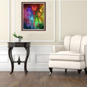 erthome DIY 5D Multicolor Diamond Painting Embroidery Cross Art Crafts Stitch Home Decor