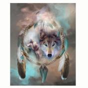 Jamicy 5D Animal Embroidery Paintings DIY Home Decor Rhinestone Pasted Diamond Painting Cross Stitch