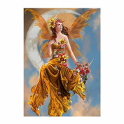 Jamicy Home Wall Decoration 5D Embroidery Rhinestone Pasted Painting Cross Stitch