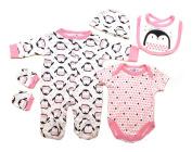 Lily & Jack Newborn Baby Girls Penguin Layette Clothing Gift Set