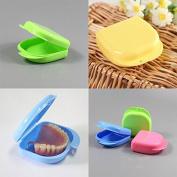 Msmask Dental Orthodontic Mouthguard Denture Storage Cases Box Good Brace False Teeth