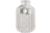 Saenger Hot Water Bottle 2,0 L with Knitted Cover