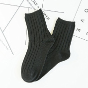 Men's socks_retro and Wire Wool socks warm, and men's, women's No. 1 Colour