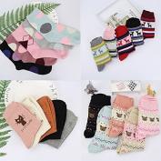 Ladies SOCKS_stylish woollen socks ladies socks autumn and winter comfort women socks cute socks in barrel, mash-ups, random, all code