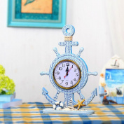 Home Decoration helmsman modelling Bell living room Study Decoration Ornaments Watches , a