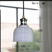 PIGE Nordic Modern Creative Glass Small Chandelier Restaurant Bar Crystal Candy Colour Shade Single Head Chandeliers