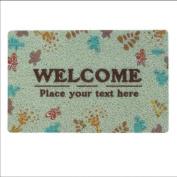 HSheng® Leaf carpet Carpet door Bathrooms Kitchen Bathroom door Water - absorbing anti - skid mattress Mat mats , 1 , 40*60cm