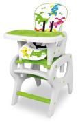 Asalvo Convertible Little Dogs Design High Chair