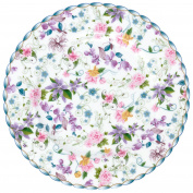 Krauff 016 of 21 244 Dessert Plates 19 cm, Porcelain, White, 7.5 x 7.5 x 1.7 cm