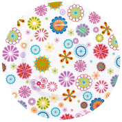 Krauff 21 244/011 Dessert Plates 19 cm, Porcelain, White, 7.5 x 7.5 x 1.7 cm
