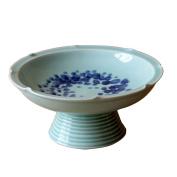 houyuanshun European Ancient Craftsmanship Handmade Ceramic Fruit Plate Home Decoration Decoration Villa Ornaments Fruit Plate