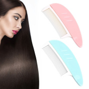 SKYlive Women Comb , Plastic Hairdressing Tail Haircut Comb