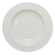 Krauff 21 244 003 Bowl Diameter 21.5 cm, Porcelain, White, 21.5 x 21.5 x 3,2 cm