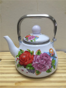 Milk tea pot with filter net,B