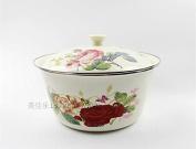 Kitchen ware, red enamel basin, fruit plate,C