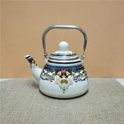 Milk tea pot with filter net,D