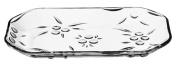 Pasabache Glass Serving Tray Glass Platter Dessert Platter Sharing Plate