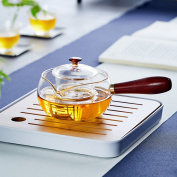 CHENGYI Thicker Glass Teapot High temperature resistant Glass Kettle Transparent Home Health Pot 230ml