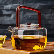 CHENGYI Heat Resistant Glass Teapot Home Kettle Thicker High Temperature Resistant Health Pot 650ml