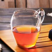 WYQLZ Heat Resistant Glass Creative Office Filter Transparent Cups Teapot 250ML
